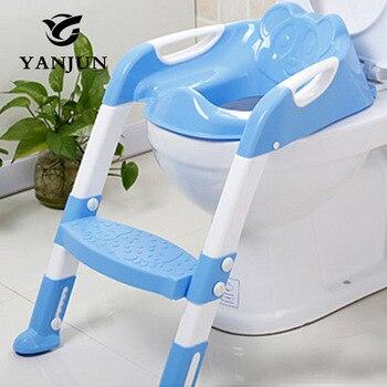 Escalera Inodoro Yanjun De Ajustable Asiento Orinal Silla Paso Entrenador Con Bebé Plegable N80kXnwOP