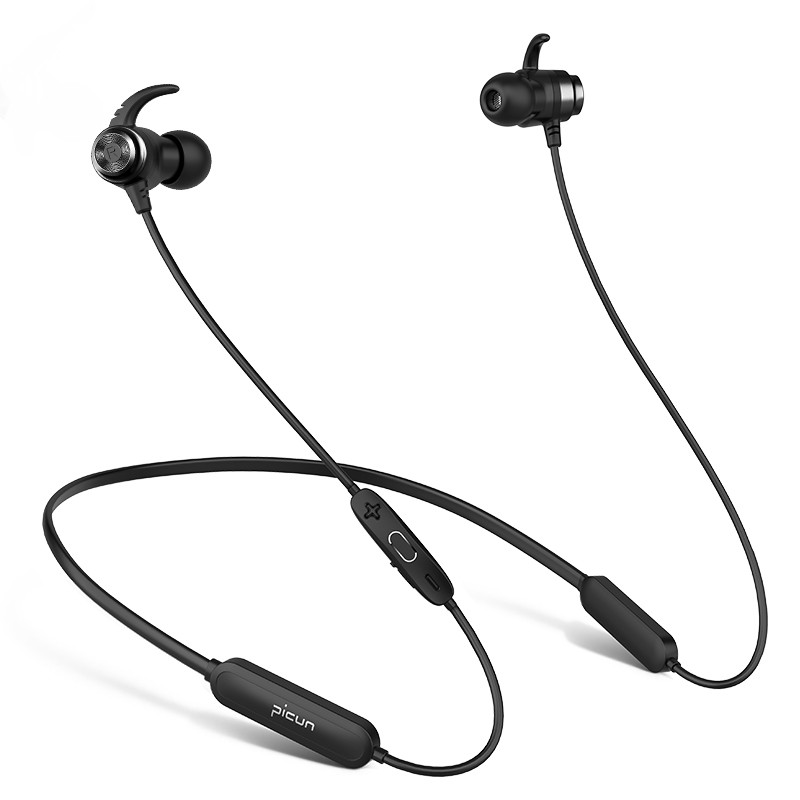 Neckband Bluetooth Headphones Wireless V4.2 With mic 30 Hrs Playtime Sports Earphones Stereo Bass Headset Magnetic Comfy Earbud sq u6 wireless v4 1 magnetic stereo earphones