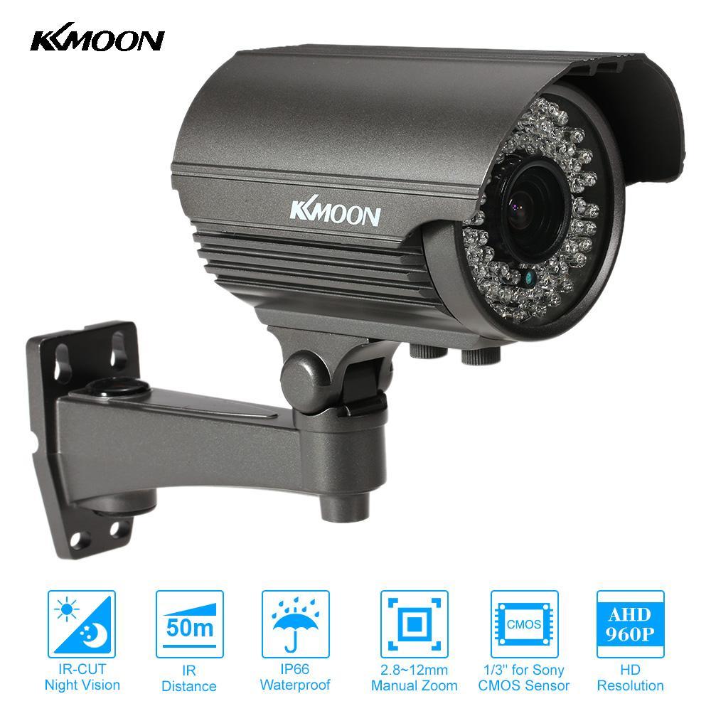 """KKmoon AHD caméra 1080P étanche CCTV sécurité balle caméra 2.8 ~ 12mm Zoom manuel objectif 2.0MP 1/3 """"CMOS 72 IR led Vision nocturne-in Caméras de surveillance from Sécurité et Protection on AliExpress - 11.11_Double 11_Singles' Day 1"""
