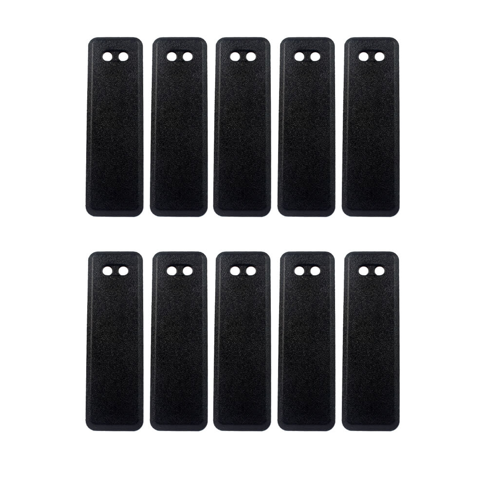 10pcs Retevis RT8 Walkie Talkie Belt Clip For Retevis RT8 DMR Radio Two Way Radio Ham Hf Transceiver Black J9115T