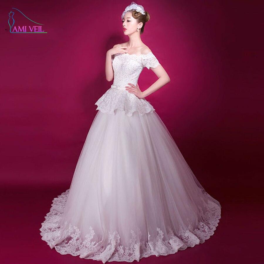 Real Photos Princess Off Shoulder Ball Gown Wedding