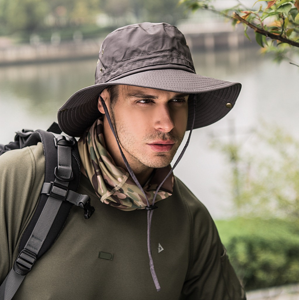 a8e14f32 New Couples Outdoor Hat Women Summer Quick Dry Fisherman Sun Hat Men Joker  Collapsible Climbing Big Wide Brim Bucket Hats WH627. В избранное. gallery  image
