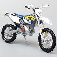 Maisto 1/12 KTM, motocicleta a escala HUSABERG FE 2015 Husqvarna FE501, moto de cross, Motocross, Diecast y vehículos, juguete de metal, modelo de coche