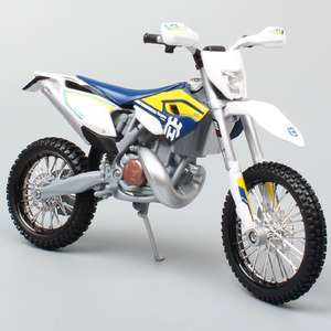 Image 1 - maisto 1/12 2015 KTM Motorcycle scale HUSABERG FE 501 Husqvarna FE501 Dirt Bike Motocross Diecast & vehicles metal car model toy