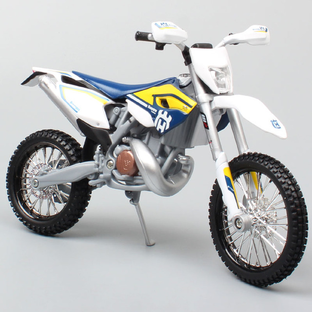 maisto 1/12 2015 KTM Motorcycle scale HUSABERG FE 501 Husqvarna FE501 Dirt Bike Motocross Diecast & vehicles metal car model toy
