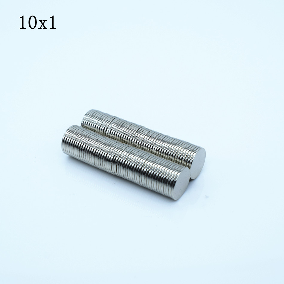 50pcs Neodymium magnet 10x1 mm Rare Earth small Strong Round permanent 10*1mm fridge Electromagnet NdFeB nickle magnetic DISC 1pcs neodymium magnet 30x10 mm rare earth super strong round permanent powerful 30 10mm fridge electromagnet ndfeb magnetic