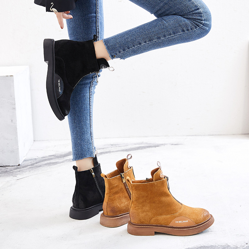 Designer Sepatu Luxus Wanita brown Mycoron Damen Freizeit Frauen Black Nicht 2018 khaki Winter Stiefel slip Schuhe Komfortable Für Stiefeletten Aw1A4qZ6P