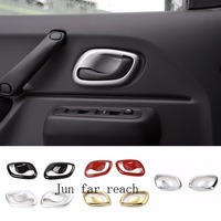 ABS Interior Handle Bowl Cover Trim 2 PCS Set For Suzuki Jimny With High Quality Car