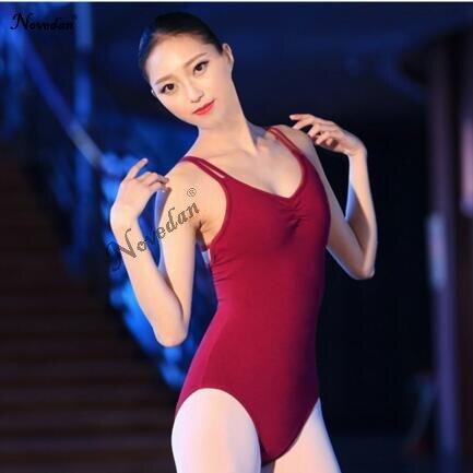 175c6300b Backless Sleeveless Spandex   Cotton Ballet Leotards For Women ...