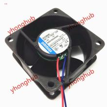 Free Shipping For ebmpapst 614 NHHR 614NHHR DC 24V 3.0W 2-wire 60x60x25mm Server Square Cooling Fan стоимость