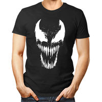 VENOM unisex T Shirt women men gift tee top movie spiderman scary Cheap wholesale tees,100% Cotton For Man,T shirt printing