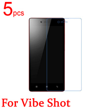 5pcs Ultra Clear Matte Nano anti Explosion LCD Screen Protector Film Cover For Lenovo Vibe Shot