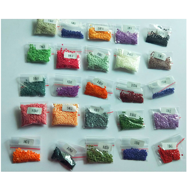 Blanc Diamonds Square Drill Rhinestone Resin Diamond Painting Accessory 447 Colors Can Choose Color Accessory Wholesale Sales for 1 Bag=200 Pieces