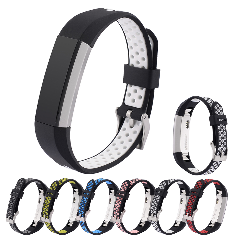 Silicone Watch Band for fitbit alta hr rubber Breathable Smart Bracelet classic Wristband for fitbit alta hr replacment band