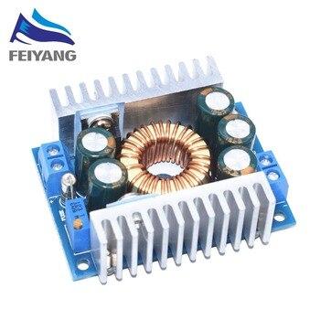 SAMIORE ROBOT 1 unids DC-DC alta potencia Baja ondulación 12A módulo reductor ajustable 95% módulo de energía eficiente para coche