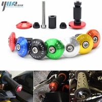 7 8 22 Motorcycle Handlebar Cap Motocross Handle Bar Grips Ends For Honda Ktm YAMAHA R1
