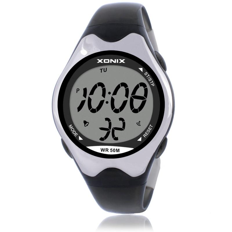 02a085d116f Mulheres Relógios Desportivos Digital Pulseira Relógios Multifunções Relógio  À Prova D  Água 50 m Meninas