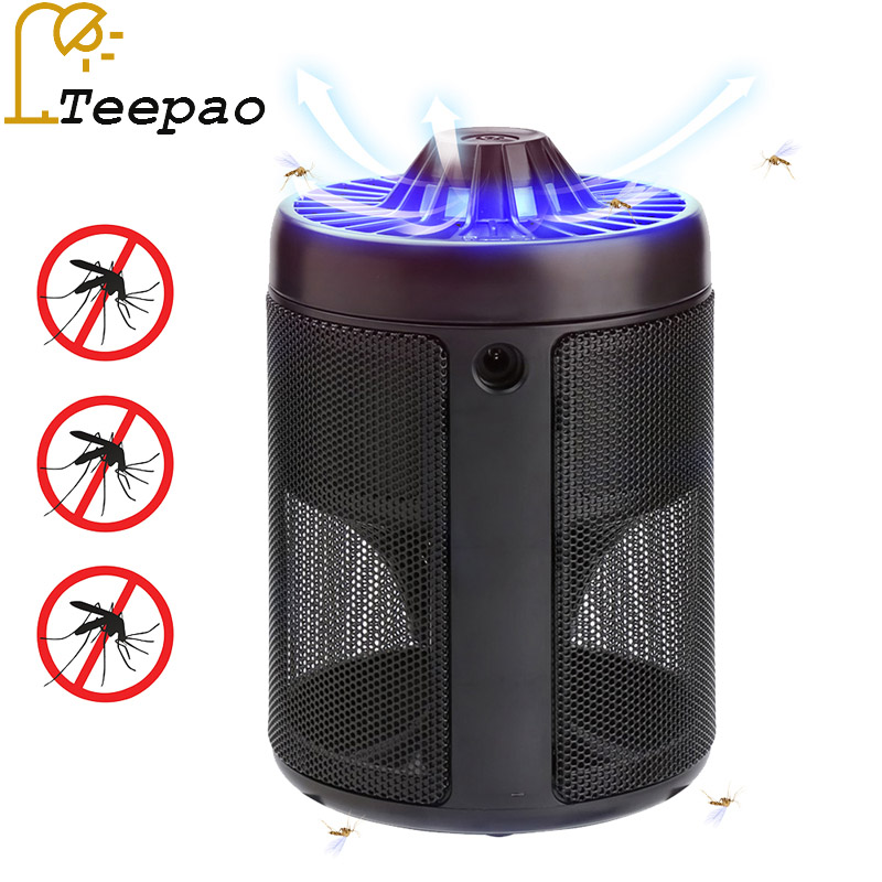 Portable USB Electronic Mosquito Killer LED Lamp DC 5V Indoor Mosquito Trap for Home Office Photocatalyst Mosquito Killer household photocatalyst led mute usb mosquito killer