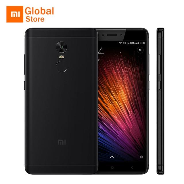 """Глобальная версия Xiaomi Redmi Note 4 Snapdragon 625 Octa core 3 ГБ Оперативная память 32 ГБ Встроенная память мобильного телефона 5.5"""" FHD 4100 мАч ce B8 B20 4100 мАч"""