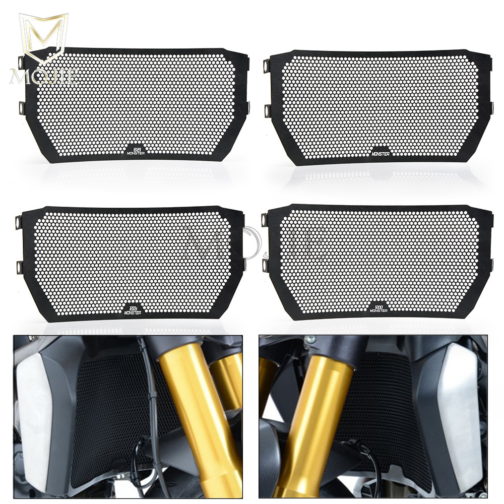 For DUCATI MONSTER 821 1200 1200S 2014 2016 2015 Motorcycle Accessories Radiator Guard Grille Cover Grill
