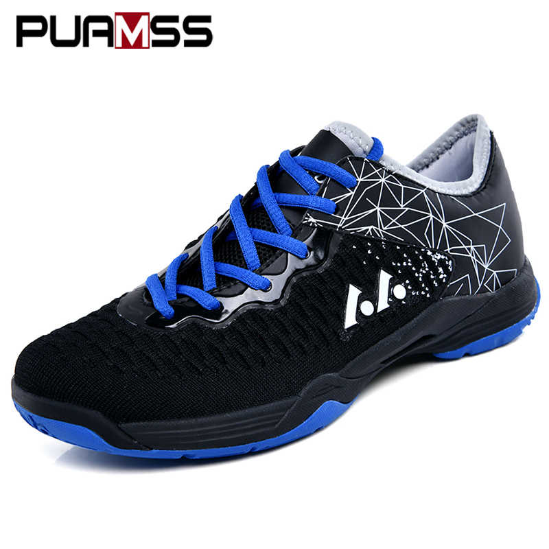 Badminton Shoes Breathable Mesh Sneakers 2019 New Men Women Badminton Training Shoes Outdoor Sports Badminton Shoes