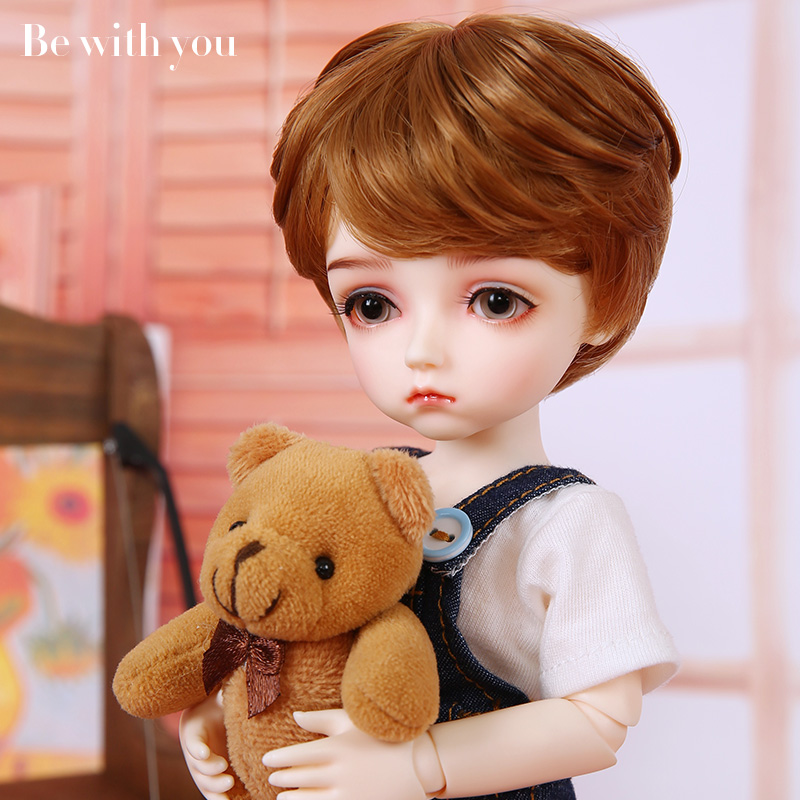 Be with you Potato bjd sd dolls 1/6 resin figures joint body model girls boys High Quality toys shop Included eyes цена