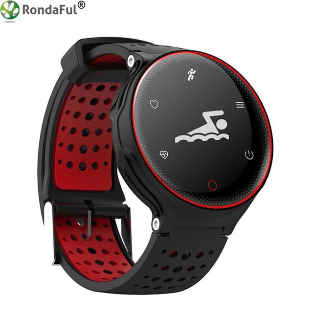 b93778751d Rondaful Neue X2 IP68 Wasserdichte Fitness Tracker Schwimmen Smart Armband  Anrufe Erinnerungen Sport Smart Armband Tragbare