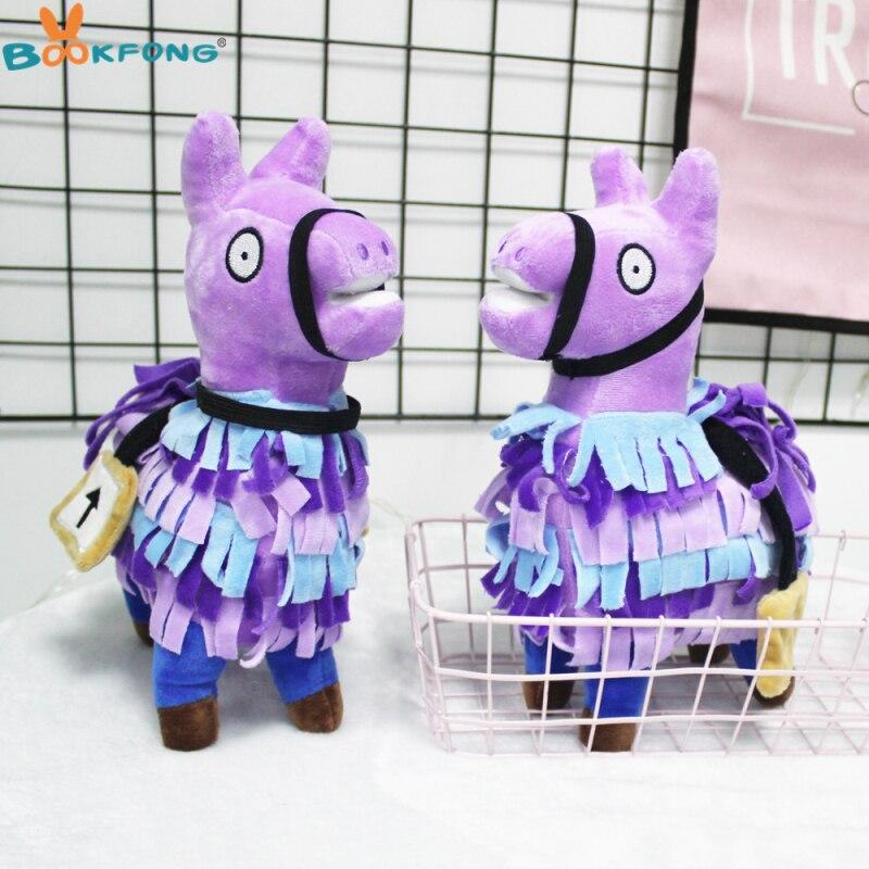 Troll Stash Lama Plüsch Spielzeug Spiel Alpaka Regenbogen Pferd Stash Gefüllte Puppe Spielzeug Kinder Geschenk 20/27 cm