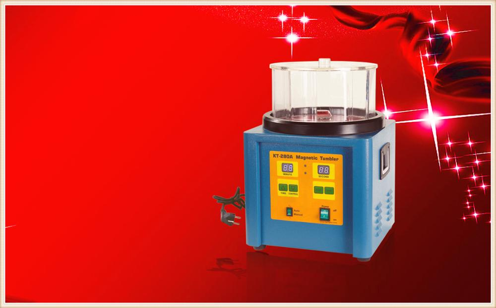 1300g Capacity 220V Jewelers Tools Jewellery Magnetic Tumbler Extra Large Ring Jewelry Polishing Machine