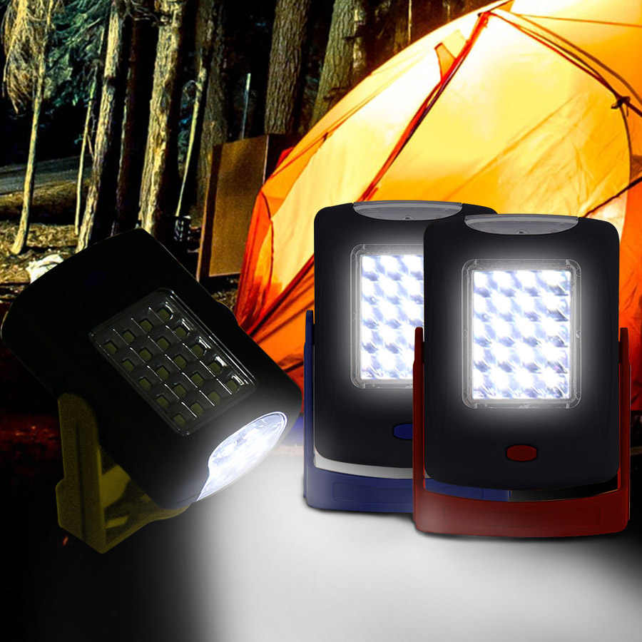 Портативный 23 светодиодный походный аварийный фонарь аварийный фонарик ночник туристический велосипед походная лампа luces de emergencia