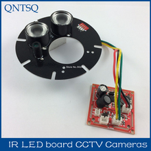 30 degree, Spot Light Infrared 2x IR LED board for CCTV cameras night vision.CY-ZL2A30