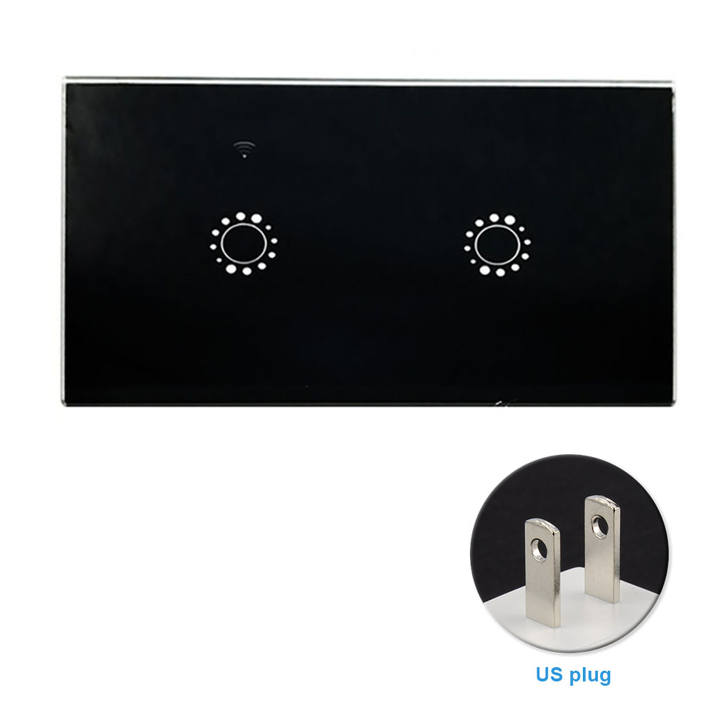 Bedroom Replacement WIFI Smart Wireless Wall Light Accessories Universal APP Remote Timing Switch Panel Voice Control Home ABS Pakistan