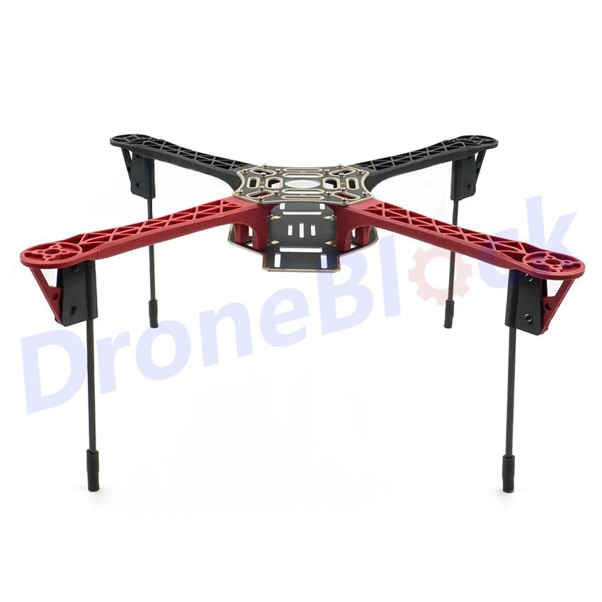 Upgraded F450 Quadcopter Frame Kit Drone Long Landing Gear APM Pixhawk PCB Frame Board Glass Fiber Multirotor Multicopter