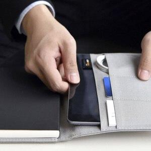 Image 3 - Youpin Kaco Noble Papier Notebook Pu Leather Card Slot Wallet Boek Met Teken Pen Gift Voor Kantoor Reizen Vergadering Kind