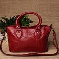 Новый горячая распродажа натуральная кожа женщины мешки с большой емкостью женский хозяйственная сумка сумки для женщин K063