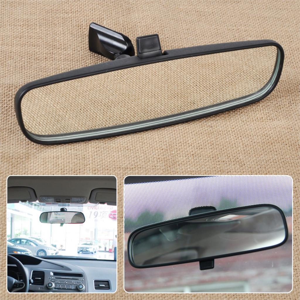 CITALL Interior espejo retrovisor 76400-SDA-A03 para Honda Civic acuerdo información 2003-2005, 2006, 2007, 2008, 2009, 2010, 2011, 2012, 2013