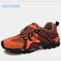 Size 35 46 Outdoor Sport Shoes 2017 New Woman Sneakers Women Running Brand Non Slip Off