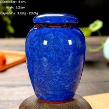 Crackle Glaze  Tea Caddy Tea Sets Zero Accessories TeaSet Canister ceramics Sealed Cans KungFu Tea  Storage Tanks