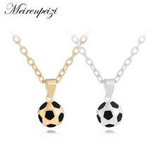 3D fútbol collares mujer COLLAR COLGANTE bola fútbol amante regalo de San  Valentín mundo aficionados al c0815df018576