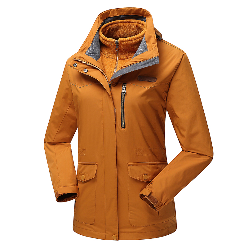 abaa1823d Hot Sale Woman Outdoor Sport Hiking Ski Waterproof 3in1 Coat Camping  Climbing Winter Jacket Women Windbreaker Jaqueta Feminina-in Hiking Jackets  from Sports ...