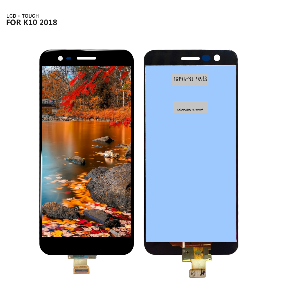 For LG K10 2018 LCD Display Digitizer Screen Touch Panel Sensor Assembly Replacement + Frame with ToolsFor LG K10 2018 LCD Display Digitizer Screen Touch Panel Sensor Assembly Replacement + Frame with Tools