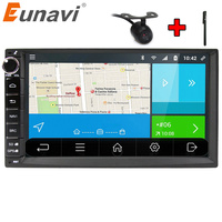 Eunavi New Android 6 0 Quad Core Universal Car Audio Stereo GPS Navigation Double 2 Din