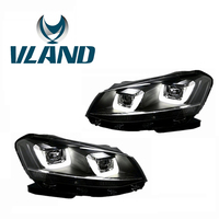 Vland Factory Car Accessories Head Lamp for Volkswagen Gol 2013 2015 LED Head Light Plug and Play Design