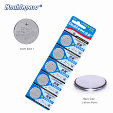 Quality 5pcs/ 2 Cards Doublepow DP-CR 2025 3V Lithium Button Cell Battery Coin CR2025,CL2025,ECR2025,GPCR2025, OEM is acceptable