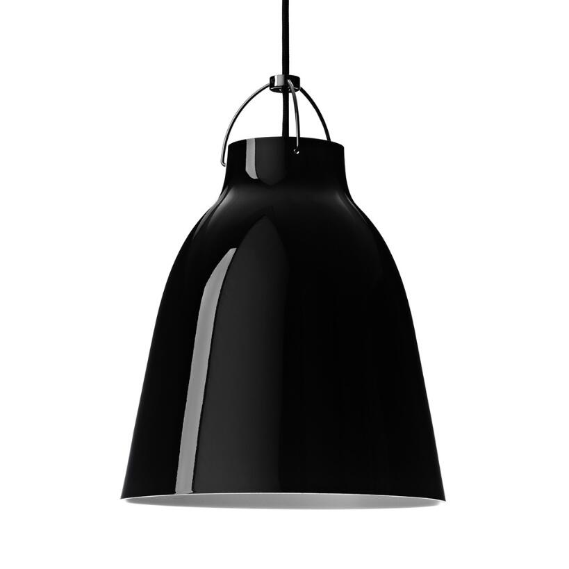 Replica Cecilie Manz Caravaggio Free Shipping White/Black Aluminium Dining Room Bedroom CafeShop Pendant Light lamp Lighting new modern caravaggio suspension black white pendent lamp light lighting sitting room free shipping