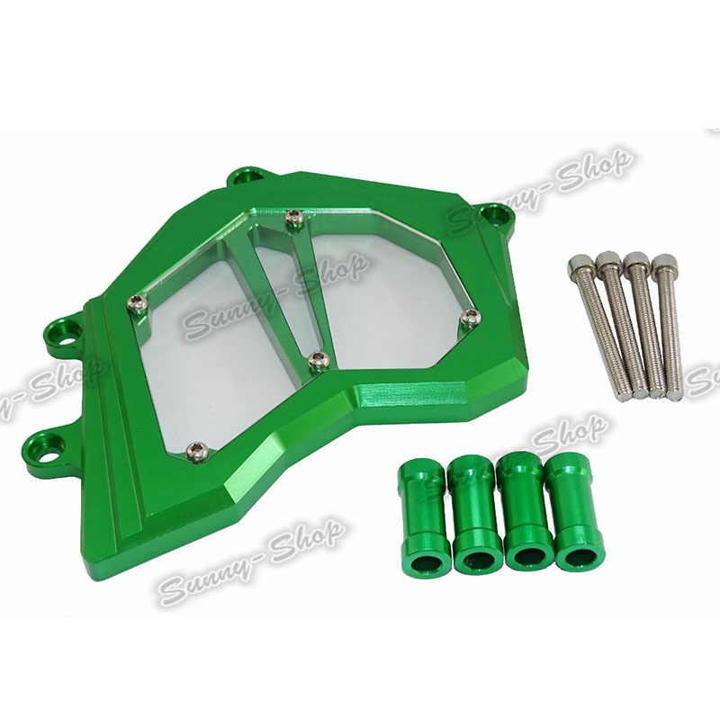 Waase Untuk Kawasaki ZX10R ZX-10R 2011 2012 2013 2014 2015 Sepeda Motor Depan Sprocket Rantai Penjaga Penutup Sisi Kiri Mesin