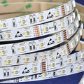 NEW DC24V 5M 60leds/M 12mm 4 in 1 color LED SMD 5050 RGBW Strip Light (rgb+white  / rgb+warm white) Non waterproof for party