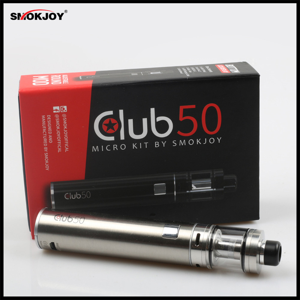 Original SMOKjoy Club 50 Micro Kit with Club 50 Mod 1600mAh battery & Air Tank 22 Electronic Cigarette starter kit Promotion Now starter for mercury outboard 50 859170t1 50 859377t 50 884044t 50 884045t 50 888160t