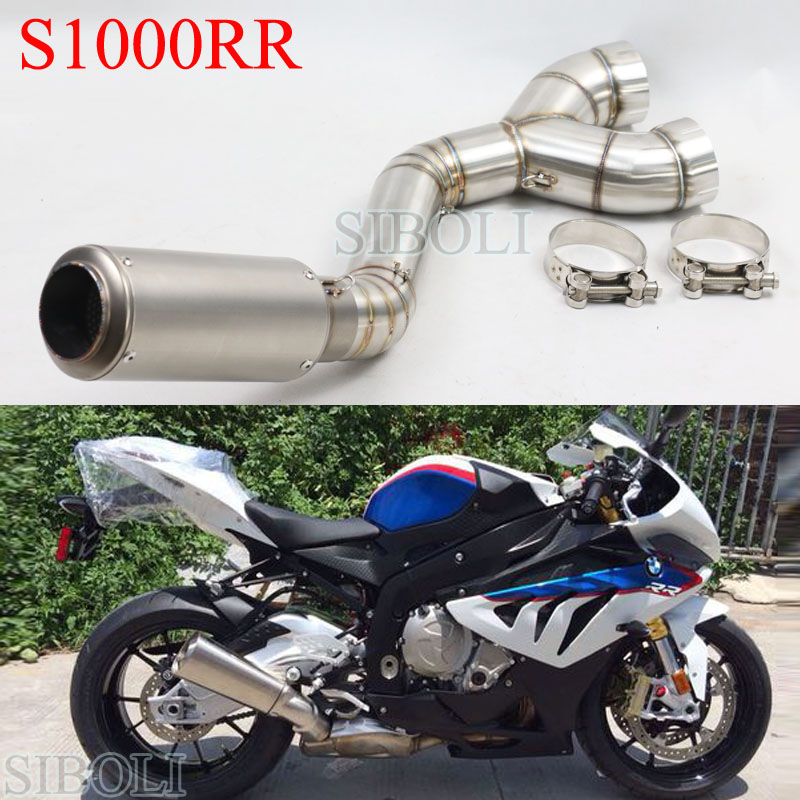S1000RR Motorcycle Full System Slip On Exhaust Modified