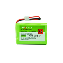1 sztuk Ni MH akumulator AAA 800mAh 3.6V NiMH telefon bezprzewodowy bateria zastępcza dla 29710 (PK 0107)